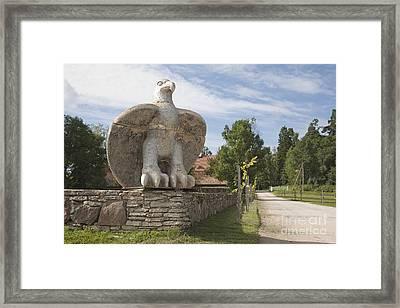 Large Bird Statuary Framed Print by Jaak Nilson