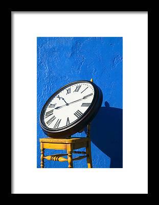 Clocks Framed Prints