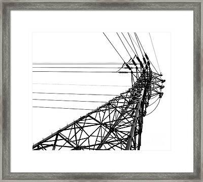 Large Powermast Framed Print