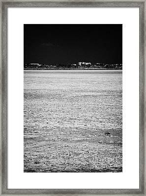 Larnaca Salt Flats In The Larnaka Salt Lake Republic Of Cyprus Europe Framed Print