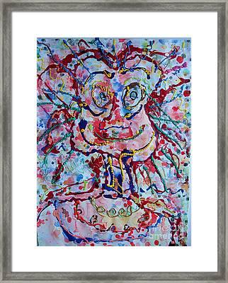 Larry Framed Print by Bill Davis