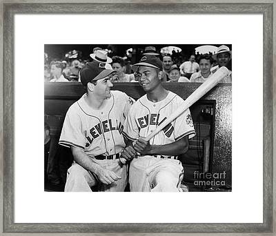 Larry Doby (1923-2003) Framed Print by Granger