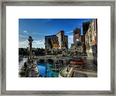 Las Vegas 028 Framed Print