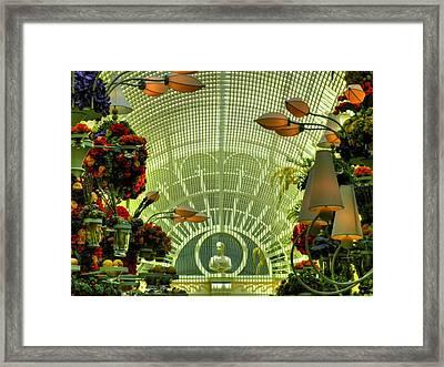 Las Vegas 044 Framed Print