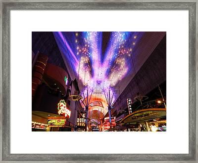 Las Vegas 062 Framed Print