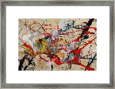 Lassoed A Tornado Framed Print