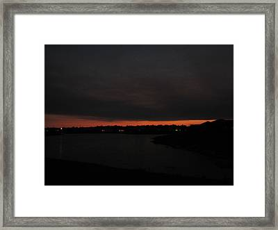 Framed Print featuring the photograph Last Breath Of Hope by Bill Lucas