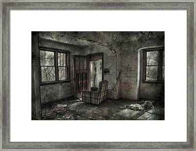 Last Days  Framed Print by Empty Wall
