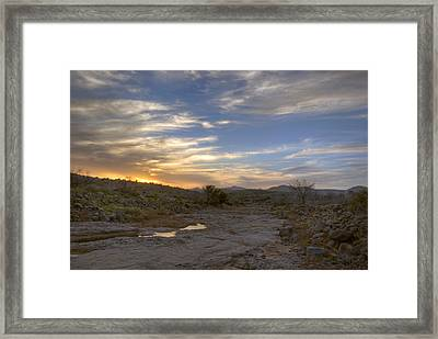 Last Drop Left Framed Print by Anthony Citro