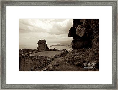 Last Greek Vestige 2 Framed Print