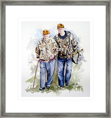 Last Hunt Framed Print by Dana  Bellis