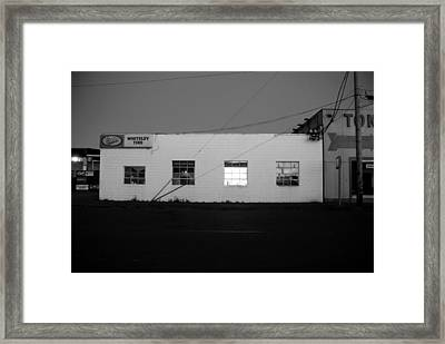 Framed Print featuring the photograph Last Light On by Kathleen Grace