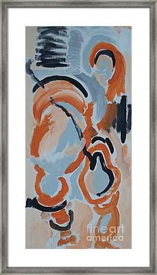 Last Man Standing Framed Print by Jay Manne-Crusoe