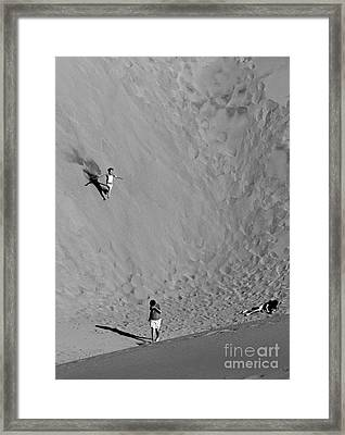 Last One Down... Framed Print by Urban Shooters