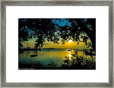 Last Patroll Tonight Framed Print