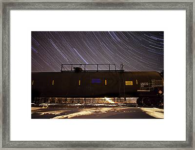 Last Stop Framed Print by Jesse Pickett