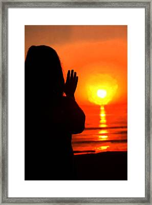 Last Summer Day  Framed Print by Emanuel Tanjala