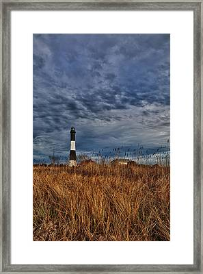 Late Afternoon Drama Framed Print by Rick Berk