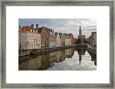 Late Afternoon Reflections Framed Print
