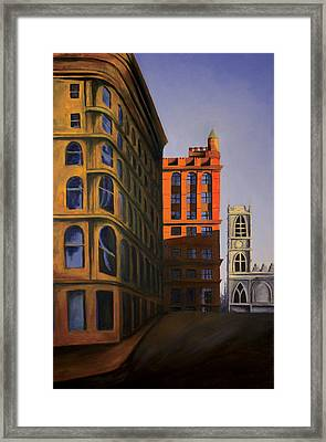 Late Afternoon Sun Framed Print by Duane Gordon