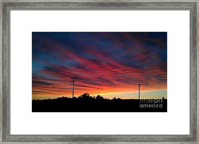 Late Evening Framed Print
