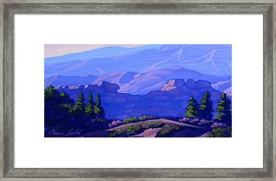 Late In The Day Framed Print by Elena Roche