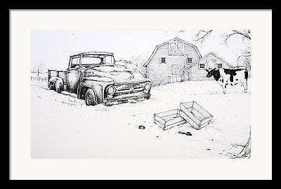 Sutton Ma Drawings Framed Prints