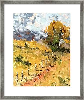 Late Summer Afternoon Framed Print