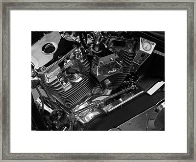Latent Thunder Framed Print by Samuel Sheats