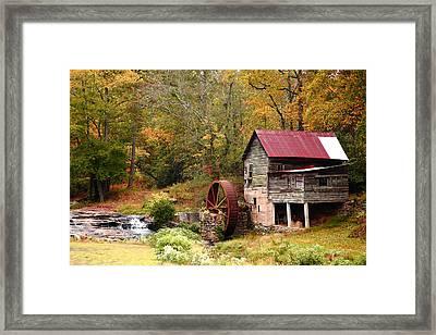Laudermilk Mill Framed Print by Rick Mann