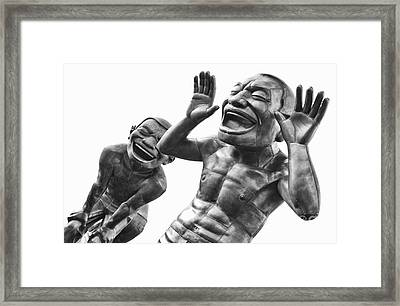 Laughter Framed Print by Naman Imagery