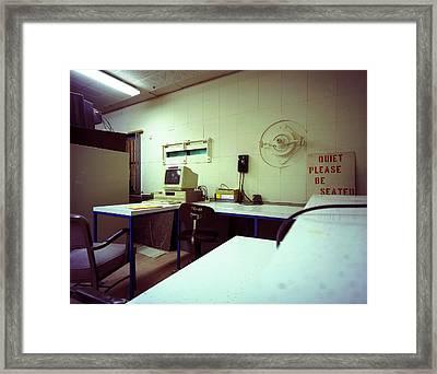 Launch Control 33 Wsmr Framed Print by Jan W Faul