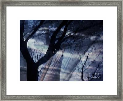 Laundry Day In Sleepy Hollow Framed Print by Janeen Wassink Searles