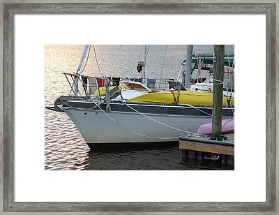 Laundry Day Framed Print by Suzanne Gaff
