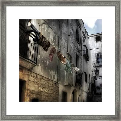 Laundry Framed Print by Joana Kruse