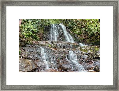 Laurel Falls Framed Print by Peter Ciro