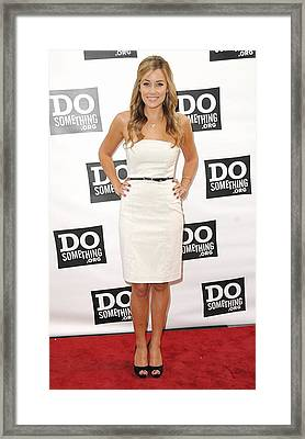 Lauren Conrad At Arrivals For The Do Framed Print by Everett