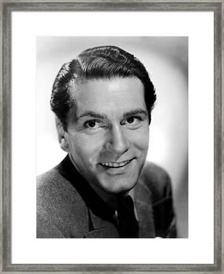 Laurence Olivier, 1940 Framed Print