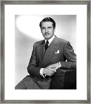 Laurence Olivier, 1952 Framed Print