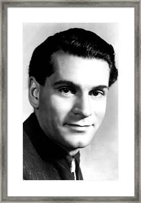 Laurence Olivier, Ca. 1946 Framed Print