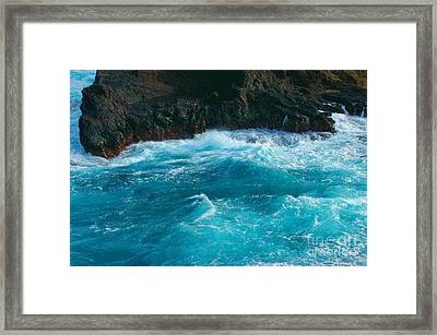 Lava Pools Hawaii-1 Framed Print