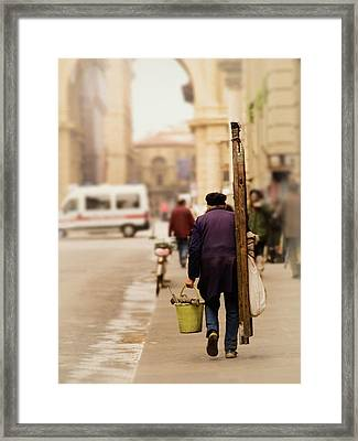 Lavatore Framed Print by Brian Fisher