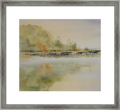 Lavenders Bridge - Bellingen Framed Print