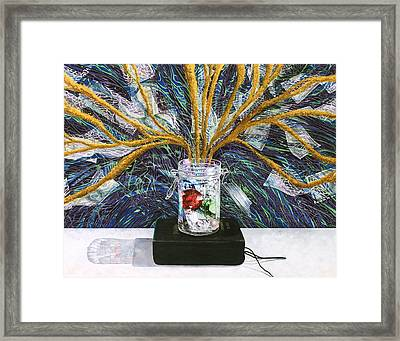 Law Of Attraction In Harmony With The Bible On Money Framed Print