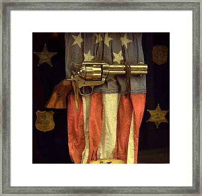Lawmen Framed Print by Aron Chervin