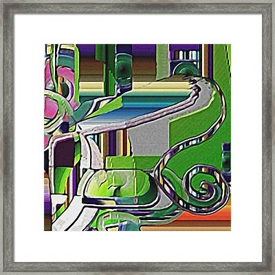 Lawn Framed Print by Dave Kwinter