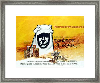 Lawrence Of Arabia, 1962 Framed Print by Everett