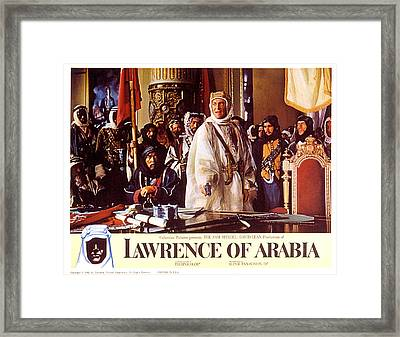 Lawrence Of Arabia, Anthony Quinn Framed Print by Everett