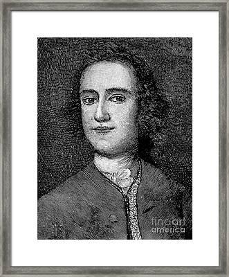 Lawrence Washington Framed Print