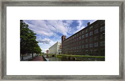 Lawrnence Mills Framed Print by Jan W Faul